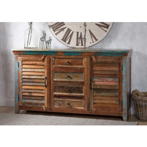Reclaimed Indian Large Sideboard