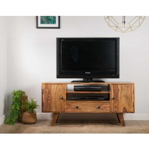 Rio Sheesham Large TV Unit