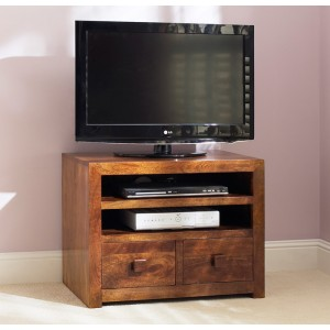 Dakota Mango Small TV Unit 1