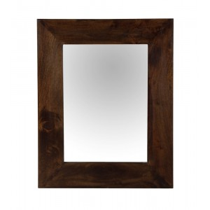 Dakota Dark Mango Wall Mirror (Small)