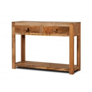 Dakota Light Mango Console Table 1
