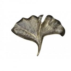 Antique Bronze Leaf Dish- Large