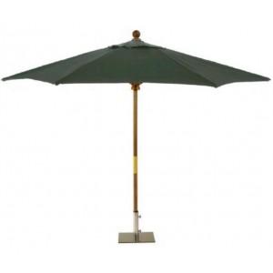 Sturdi 2m Wooden Parasol - Green 1