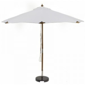 Sturdi PLUS 3m FSC Wood Parasol - Natural 1