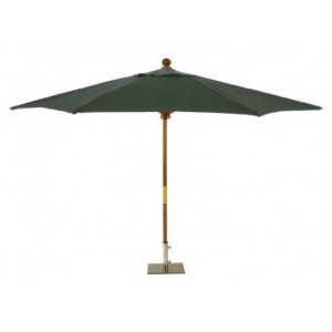 Sturdi PLUS 3x2m FSC Rectangular Parasol - Green 1