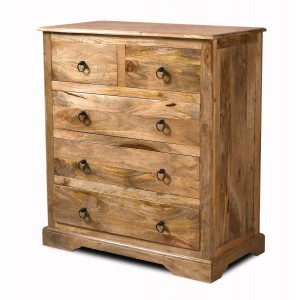 Tenali Light Mango Chest of Drawers