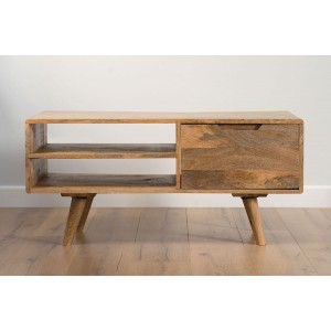 Oslo Light Mango Media Unit/Coffee Table