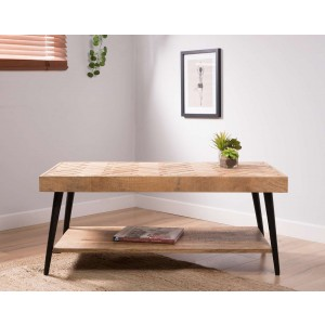 Urban Industrial Mango Coffee Table
