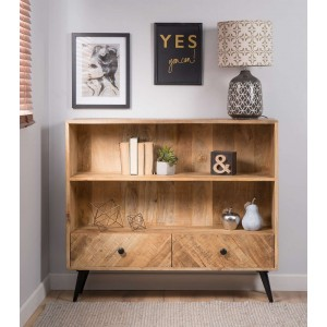 Urban Industrial  Mango Small Bookcase