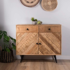 Urban Industrial Mango Small Sideboard