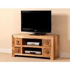 Dakota Light Mango Large TV Unit
