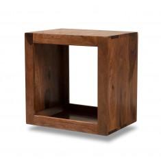 Mandir Sheesham Storage Cube