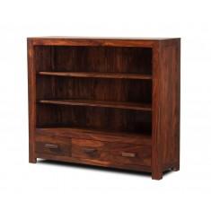 Mandir Sheesham Wide Bookcase