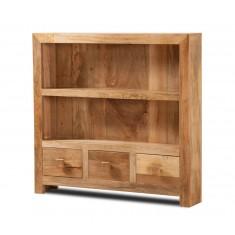 Dakota Light Mango Thin Bookcase