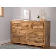 Dakota Light Mango Large Dresser
