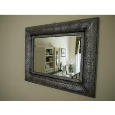 Silver Embossed Mirror