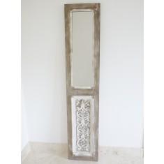 Tall Rustic Door Style Wall Mirror