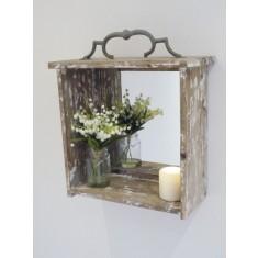 Rustic Box Mirror