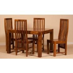 Dakota Mango 4 Seater Dining Set
