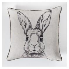 Pocket Watch Rabbit Cushion