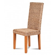 Laguna Rattan Dining Chair - Light Leg