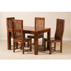 Mandir Sheesham 4-Seater Dining Set