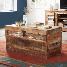 Reclaimed Indian Storage Trunk