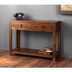 Dakota Mango Console Table