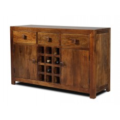 Dakota Mango Large Open Sideboard