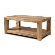 Dakota Light Mango Open Coffee Table