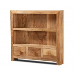Dakota Light Mango Thin Bookcase