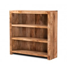 Dakota Light Mango Small Bookcase