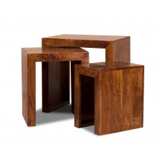 Dakota Mango Trio Table Nest