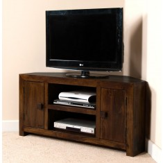 Dakota Dark Mango Large Corner TV Unit