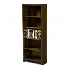 Dakota Dark Mango DVD Bookshelf