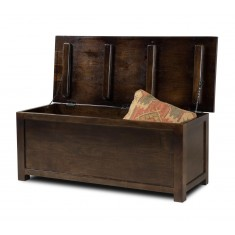 Dakota Dark Mango Blanket Box - Large