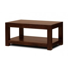 Dakota Dark Mango Open Coffee Table