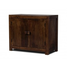 Dakota Dark Mango Small 2-Door Sideboard