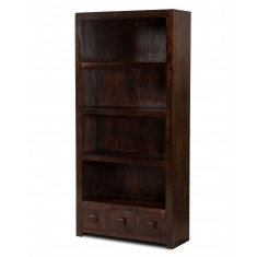 Dakota Dark Mango Tall Bookcase