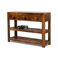 Dakota Mango Large Console Table
