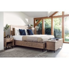 Seville Reclaimed Super Kingsize Bed