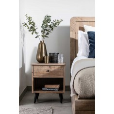 Seville Reclaimed Bedside Table