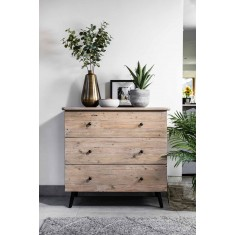 Seville Reclaimed 3 Drawer Chest