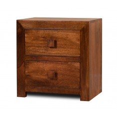 Dakota Mango Bedside Table