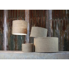 Bvari Plain Linen Lamp Shades