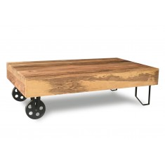 Imari Industrial Mango Cart Coffee Table