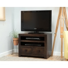 Dakota Dark Mango Small TV Unit
