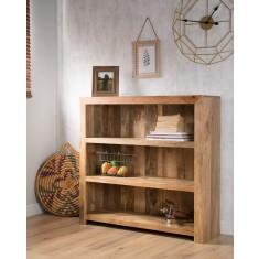Dakota Light Mango Small Bookcase