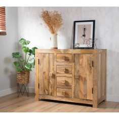 Dakota Light Mango Small Sideboard