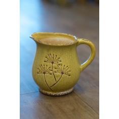 Yellow Dandelion Jug - Short